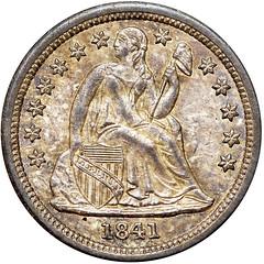 1841 Dime