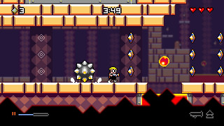 Mutant Mudds Deluxe on PS3 and PS Vita