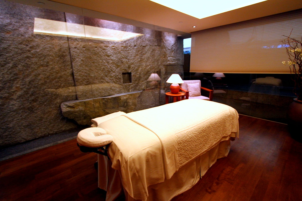 Grand Hyatt Singapore: Damai's Spa room