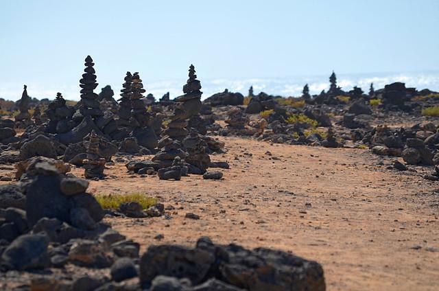 Rock Sculptures, Faro del Tostón, El Cotillo, Fuerteventura
