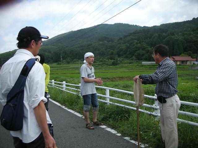観察会終了後,内藤先生から補足説明があった.