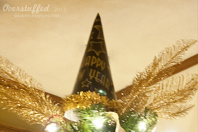 New Year's Eve Tree Topper