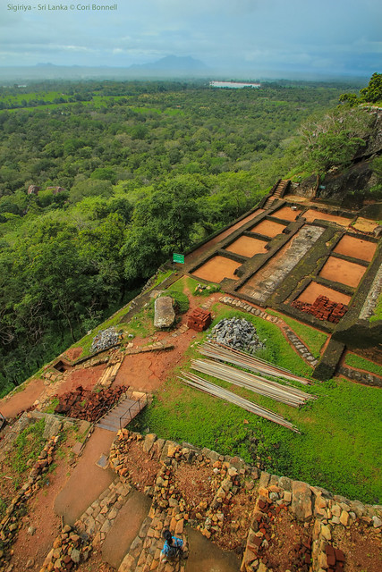 Top of Lion's Rock - Sigiriya