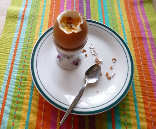 Soft boiled egg by adline✿makes