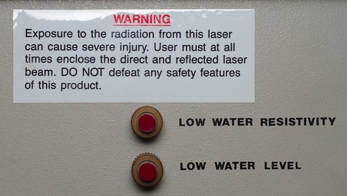 Warning: Exposure to the radiation bla bla bla...