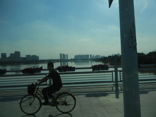 DSCN5270 _ Bicyclist, Shenyang,  China