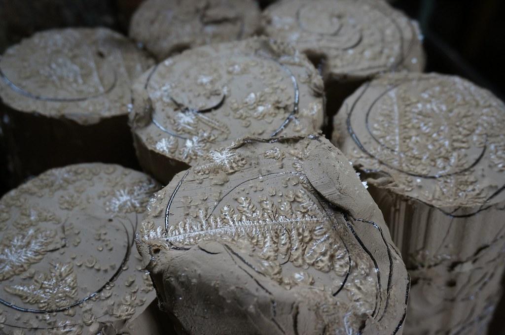 Freezed clay