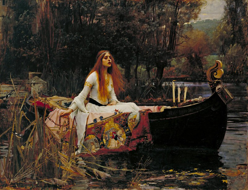 John William Waterhouse - The Lady of Shalott