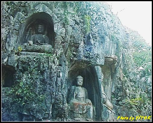 杭州 飛來峰景區 - 021 (飛來峰石雕佛像)