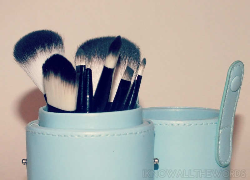 Tmart 8 piece blush set blue handle (38)