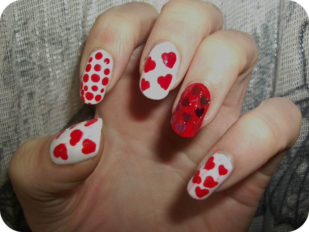 NOTD Valentine's Nail Art