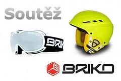 Známe výherce soutěže o helmu a brýle Briko!