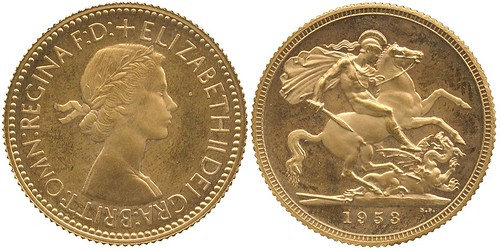 An Elizabeth II 1953 Gold Proof Sovereign