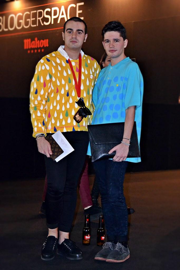 Luis y Javi MBFWM14