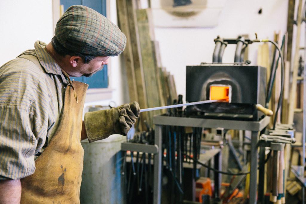 Franklin Graves II Heating Iron
