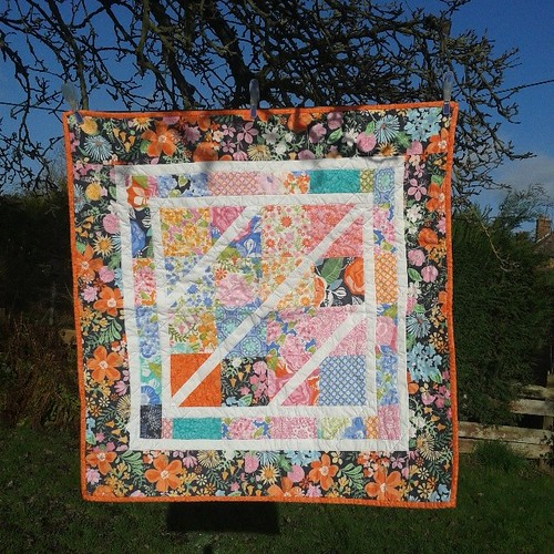 Stunning baby quilt gift from @willowbeckdesigns