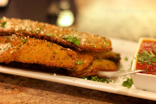 Fried Zucchini at Sunset Cafe