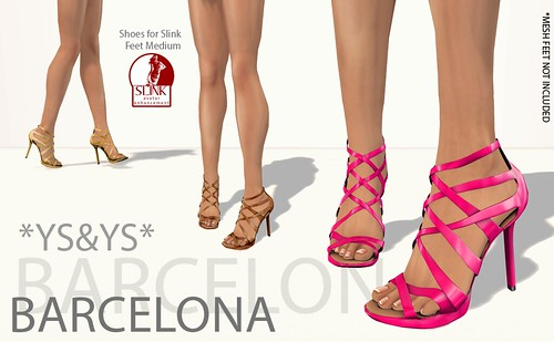 New Barcelona Shoes @ YS&YS