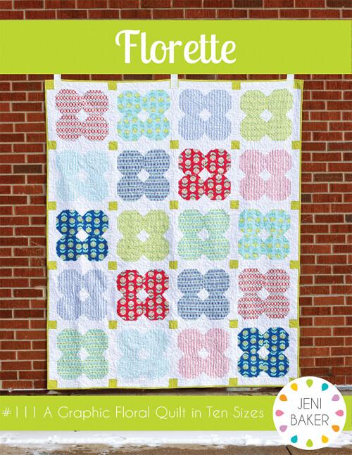 Florette Quilt Pattern by Jeni Baker