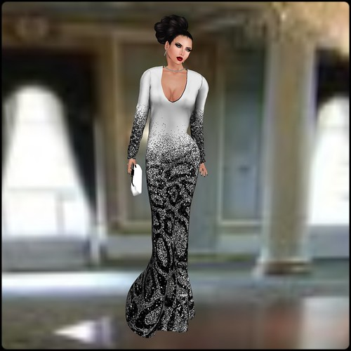 TOPAZIA- Vanille dress (mesh) 15 by Orelana resident ♛ MM Luxembourg 2014 ♛