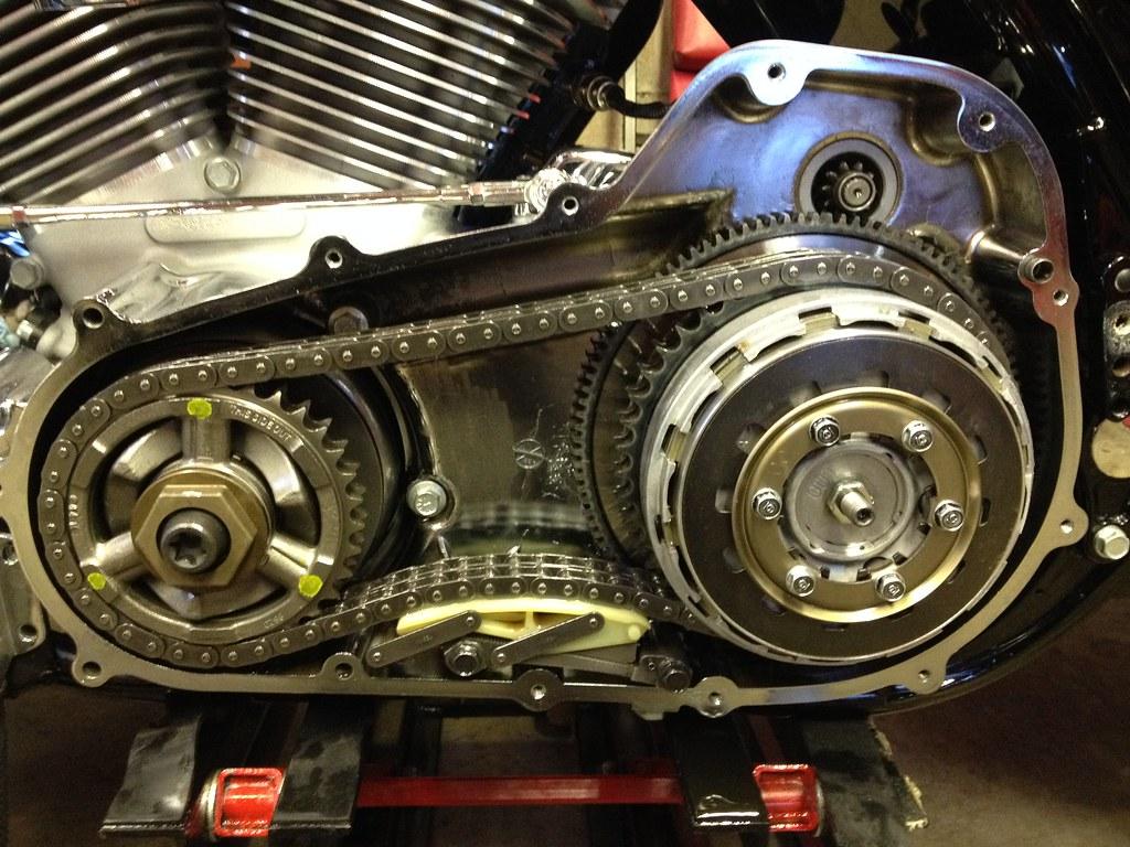 Harley Davidson Dyna Primary Chain Adjustment
