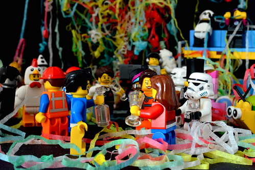 It's a LEGO party!
