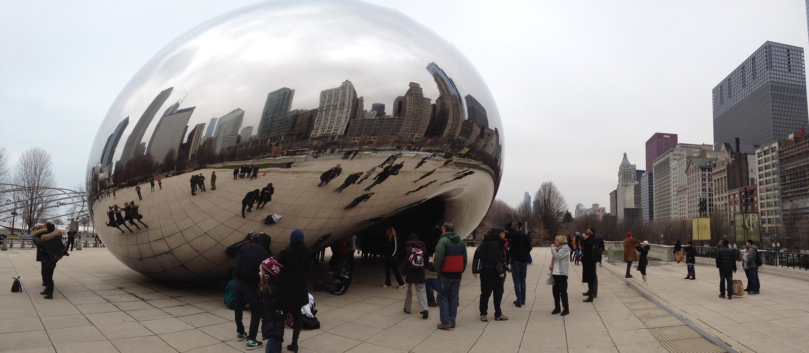 Virtual skyline #chicago #bean