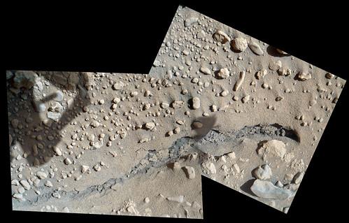 Curiosity sol 591 MAHLI