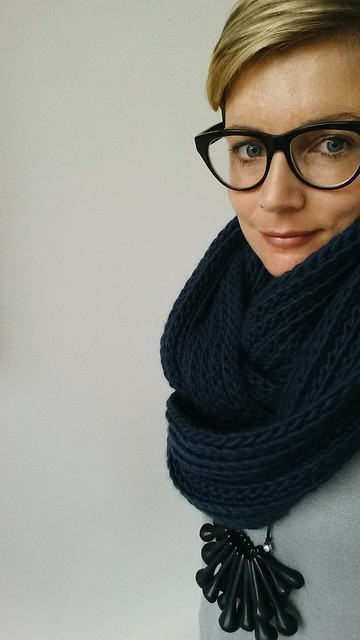 crocheted rib cowl : purl soho