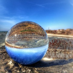 #canada #ontario #toronto #scarborough #portunion #rougehill #portunionwaterfront #lakeontario #crystalball #glassball #crystalworldproject #hdr #tv_hdr #hdr_shots #snapseed #spring #oh_canada_ #loves_canada #iphone5s #iphonography