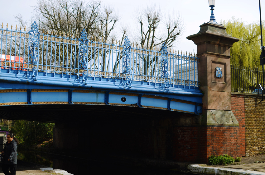 little venice blue bridge