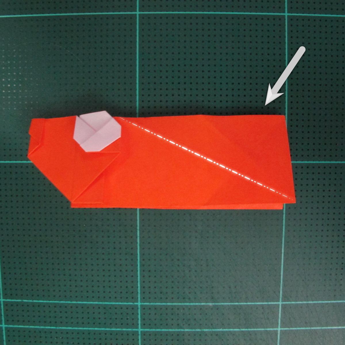 การพับกระดาษเป็นรูปปลาทอง (Origami Goldfish) 020
