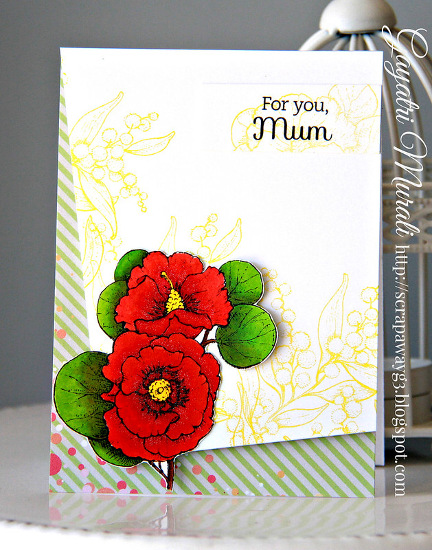 For you Mum card