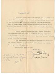 VII/7.b. Szekszárd város Polgármesterének felhívása az Ideiglenes Nemzeti Kormány 200/1945. M. E. számú rendelete alapján a zsidó vagyonok bejelentésére. 8-2-003