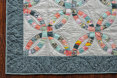 double wedding ring quilt wedding ring quilt make something 3662