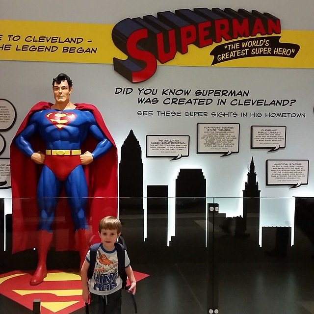 Home sweet Cleveland. #thisiscle #cleveland #216 #clevelandgram #superman