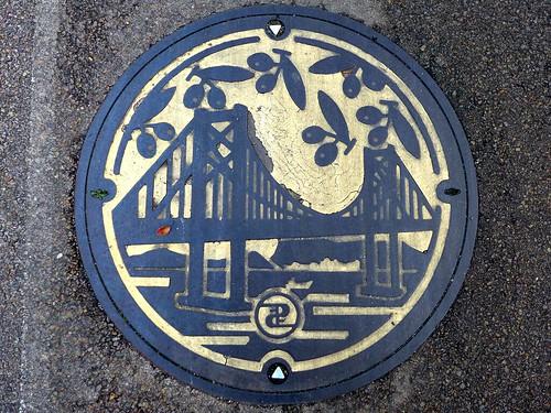 kagawa pref, manhole cover 2 (香川県のマンホール2)