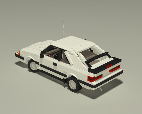 1985 Mustang SVO left upper rear