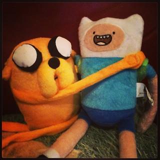 Jake & Finn - forever friends