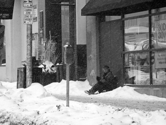 Rideau Street (Ottawa, ON Canada): February 14, 2015