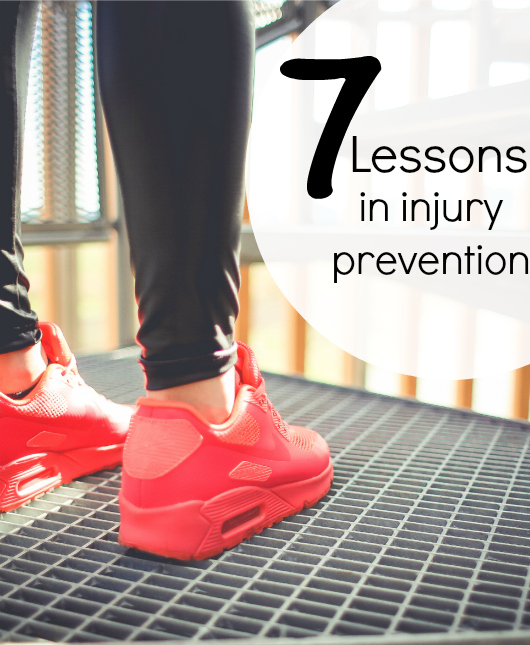 Lessons In Injury Prevention for Runners