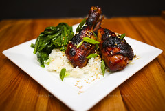 Ginger Soy Marinated Chicken with Cripsy Skin - Ho…