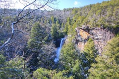 Piney Creek Falls - 95 ft waterfall in Fall Creek Falls State Park, TN