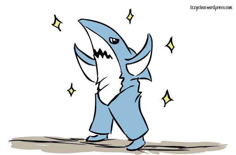 super bowl half time show dancing shark ?