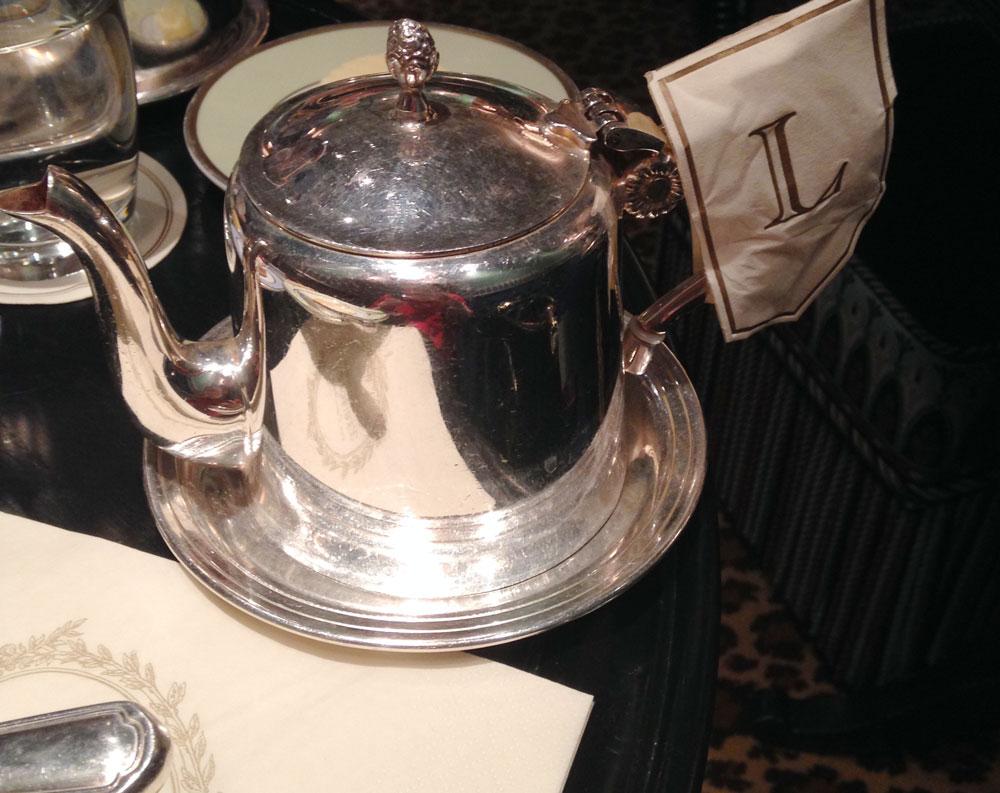 Laduree tea pot