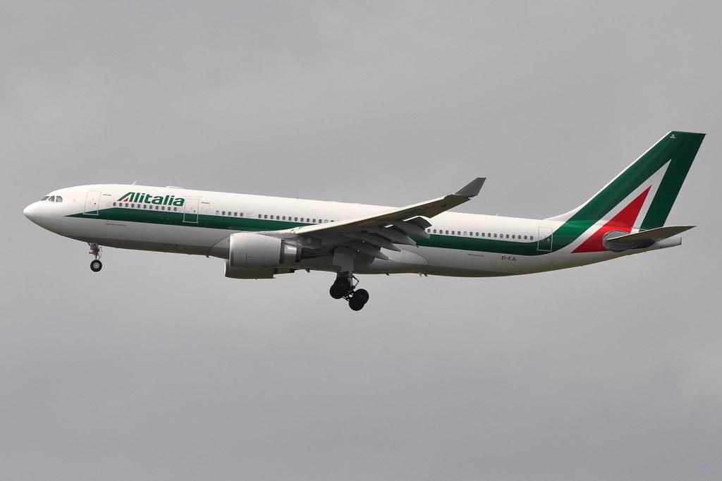 EI-EJL - A332 - Alitalia