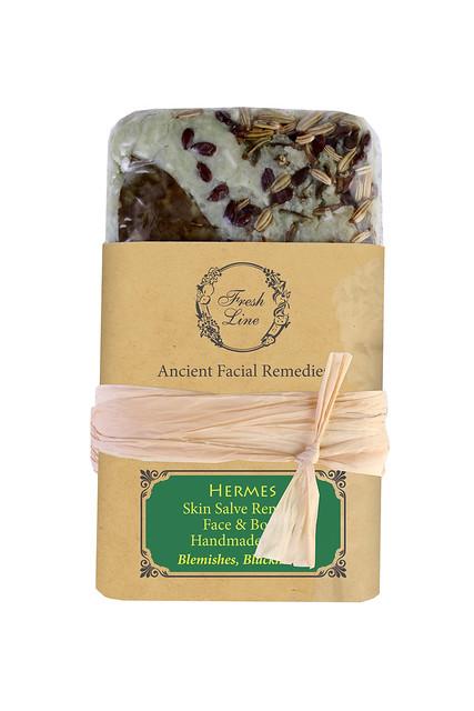 HERMES skin salve remedy face & body handmade SOAP NEW