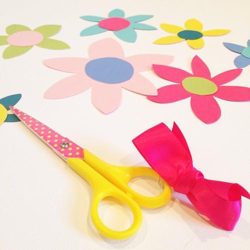 I love my polka dot scissors!   #abspdm1