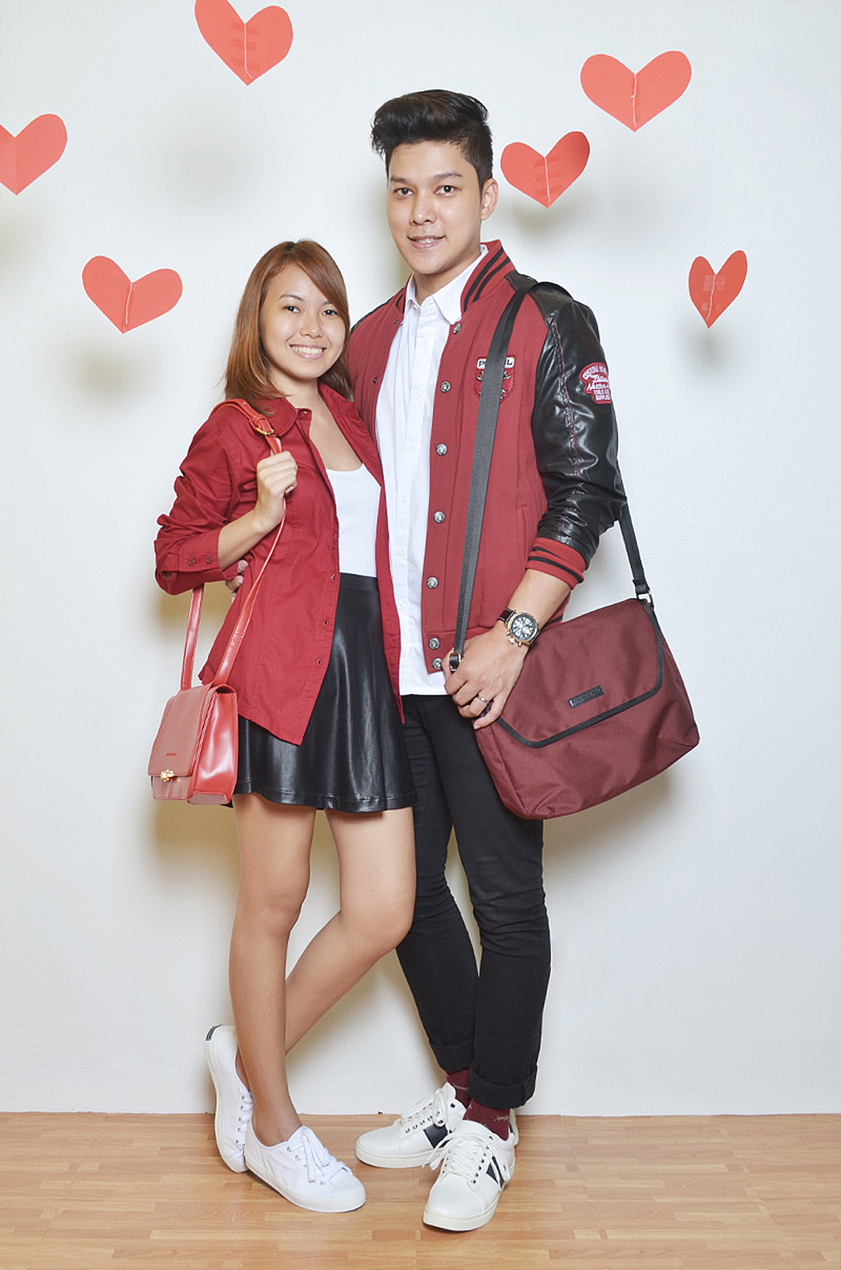 Seph Cham and Trice Nagusara