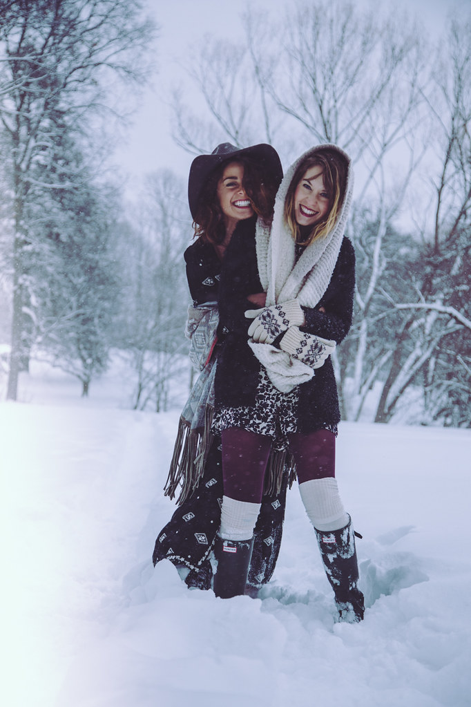 Free People-inspired winter shoot
